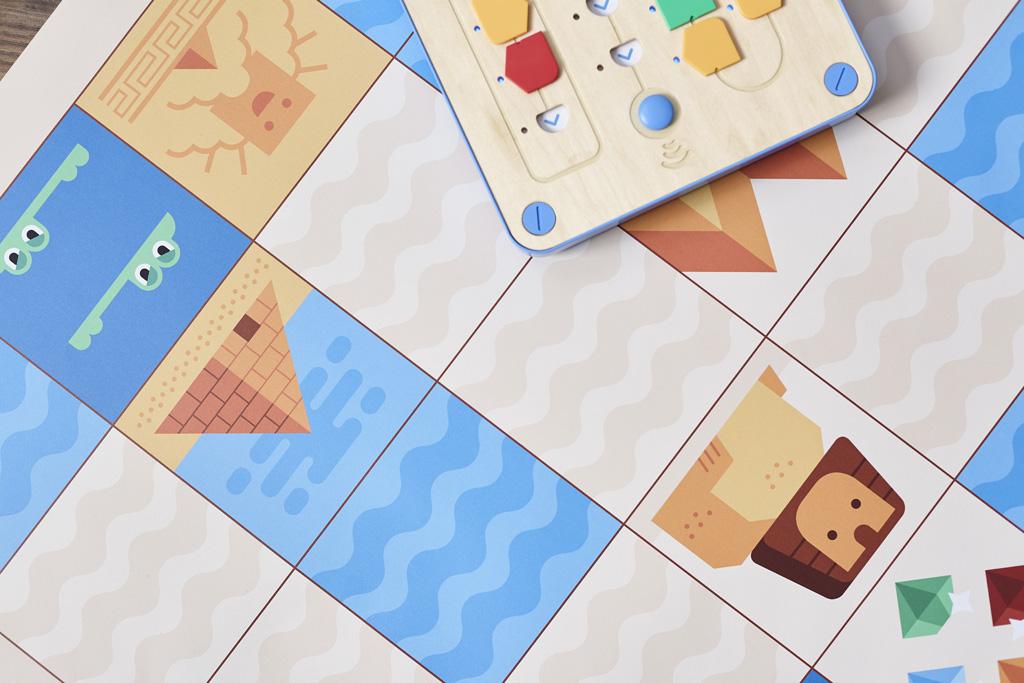 Cubetto tapis de jeu