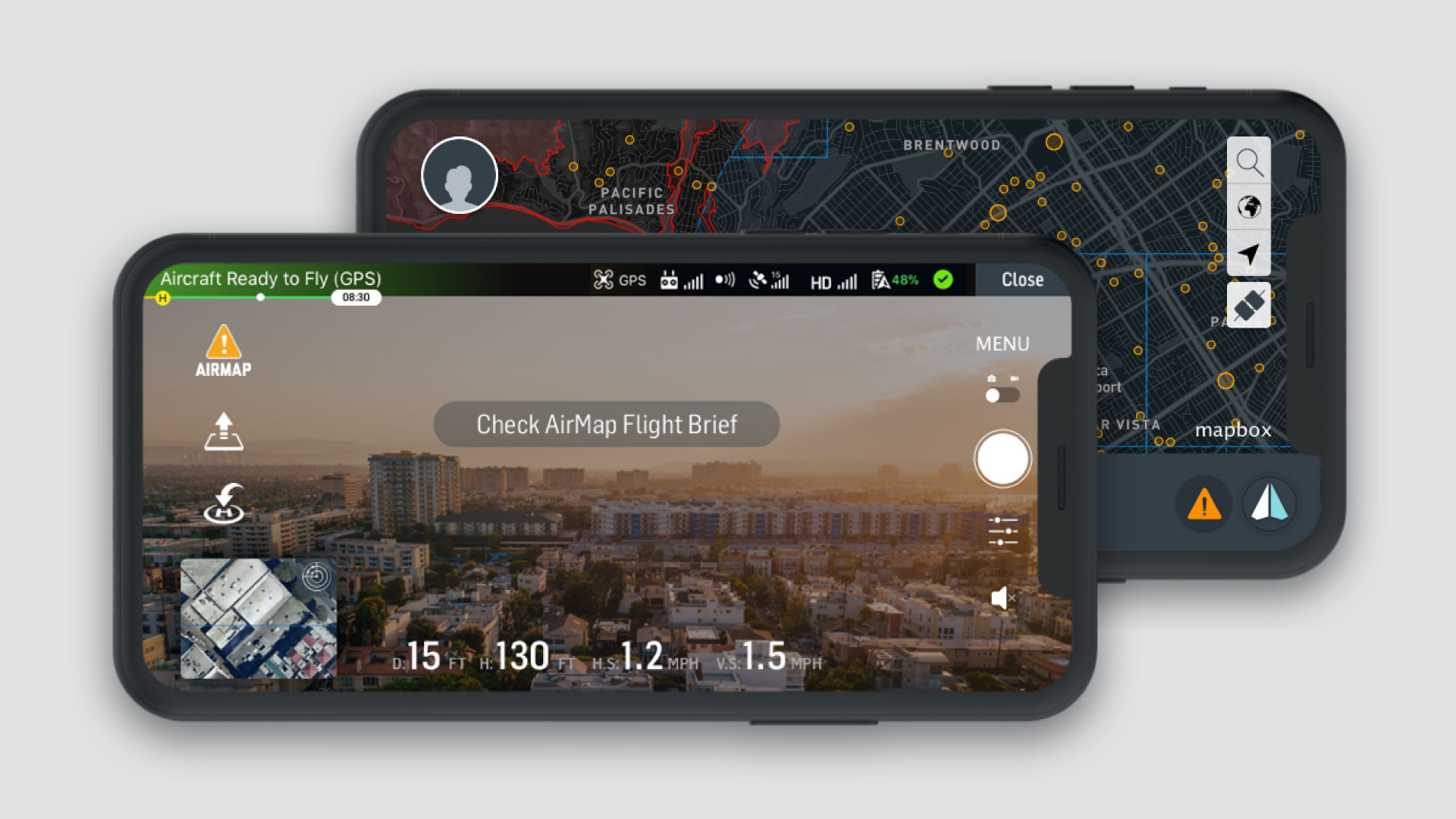 Application mobile DJI Fly