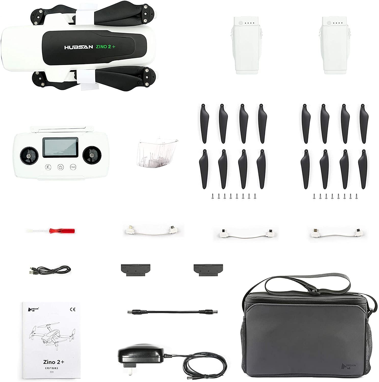 Drone Hubsan Zino 2 Contenu de la boîte