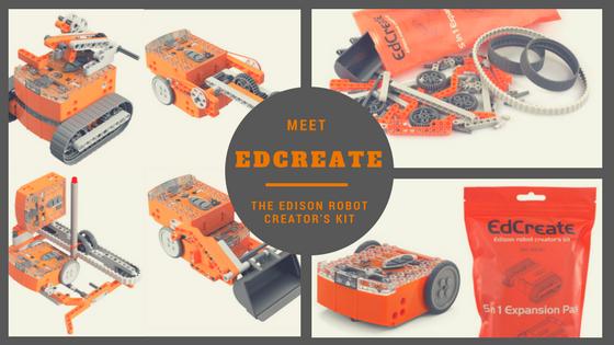 Pack Edcreate Edison V2.0