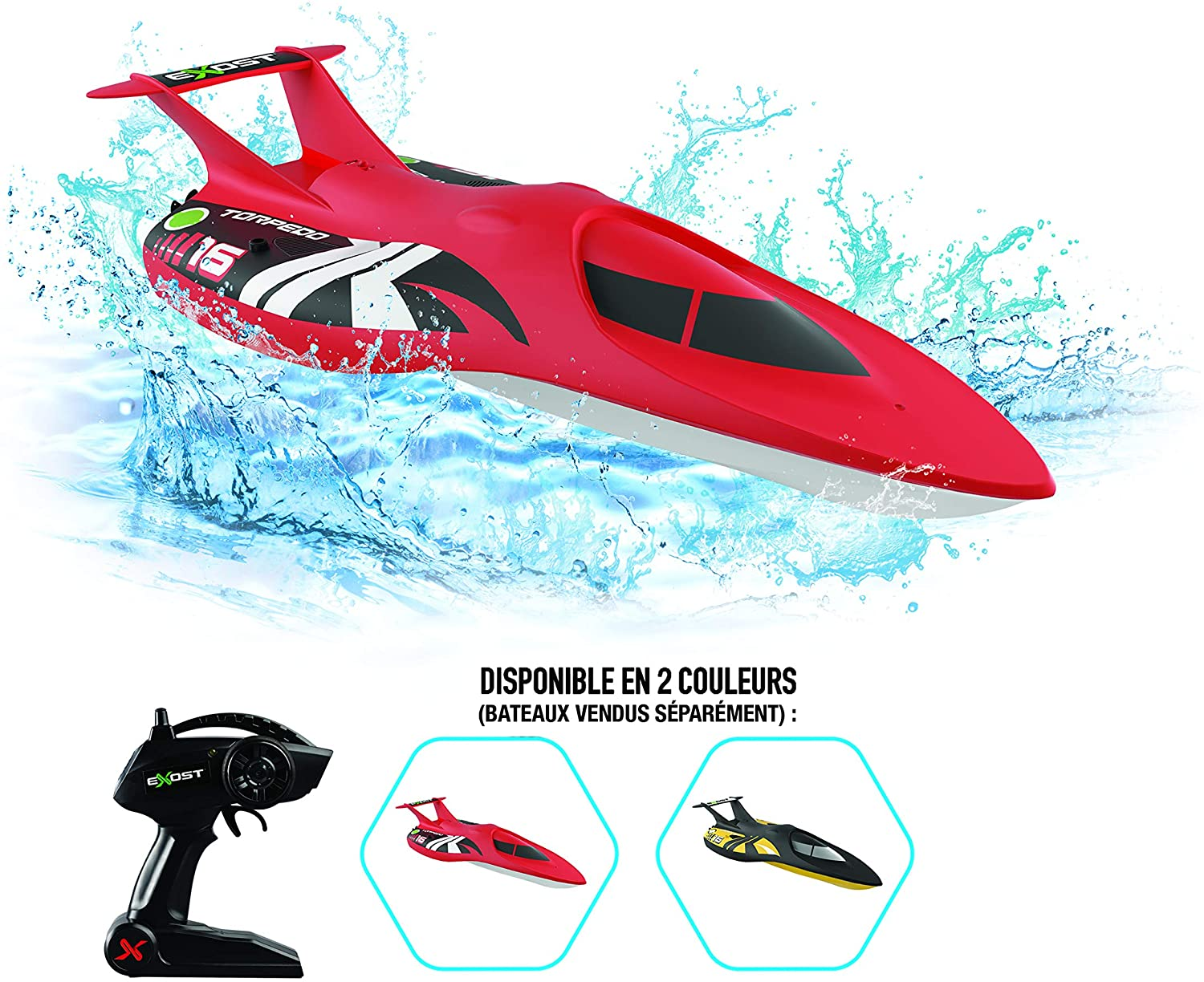 Exost Torpedo remote controlled boat