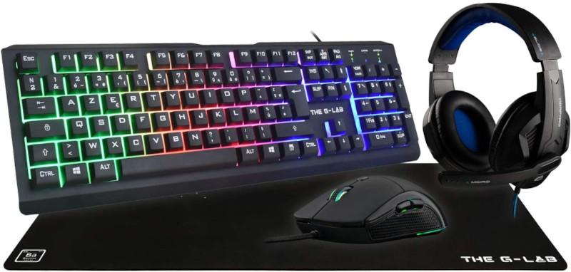 The G-Lab Combo Chromium Gaming