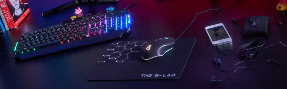 Combo Helium Gaming The G-Lab