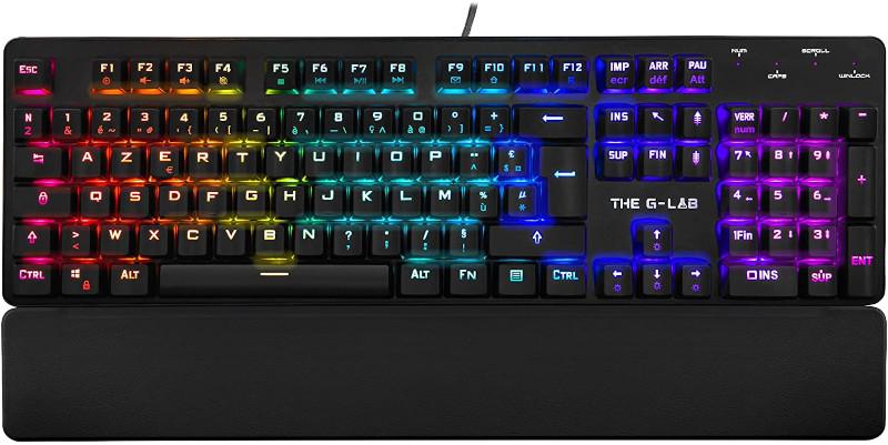 The G-Lab KeyZ Rubidium Gaming Keyboard