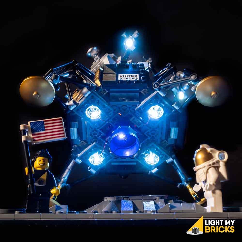 LEGO NASA Apollo 11 Lunar Lander 10266 kit lumière