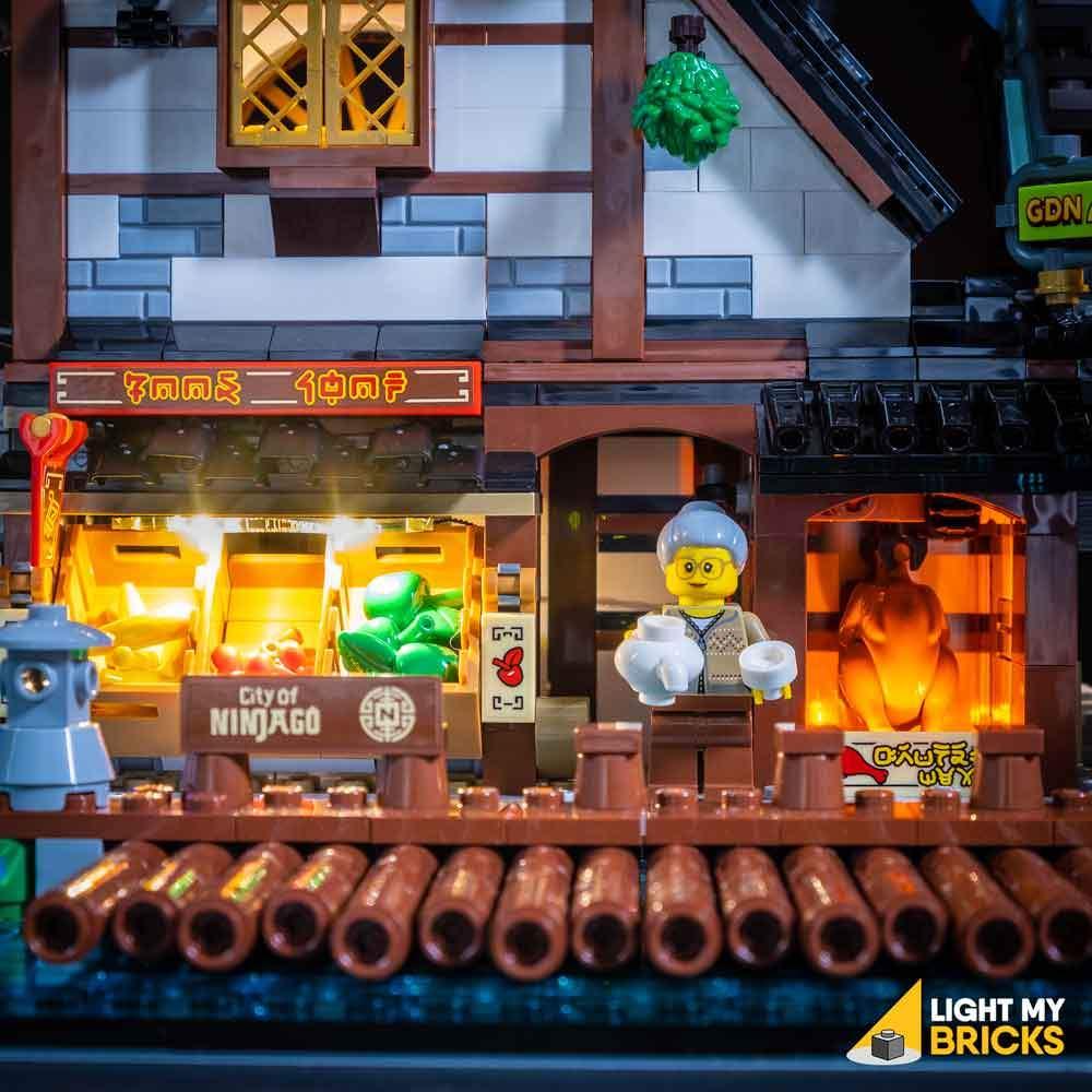 LEGO Ninjago City Docks 70620 Light My Bricks