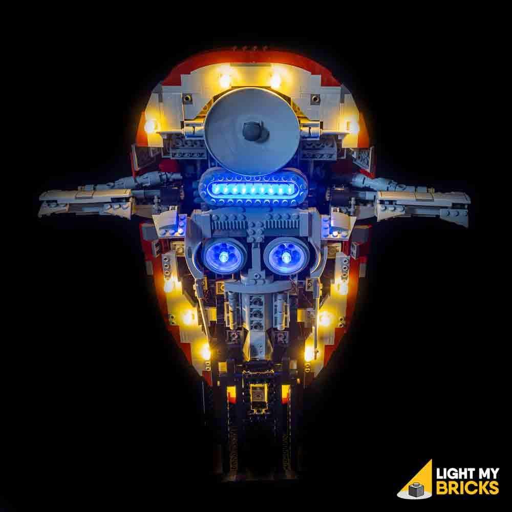 LEGO UCS Slave 1 75060 kit lumière