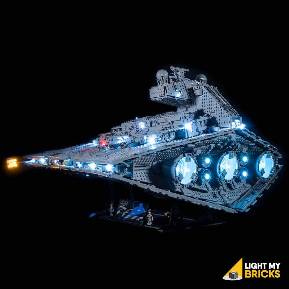 LEGO Imperial Destroyer 75052 kit lumière