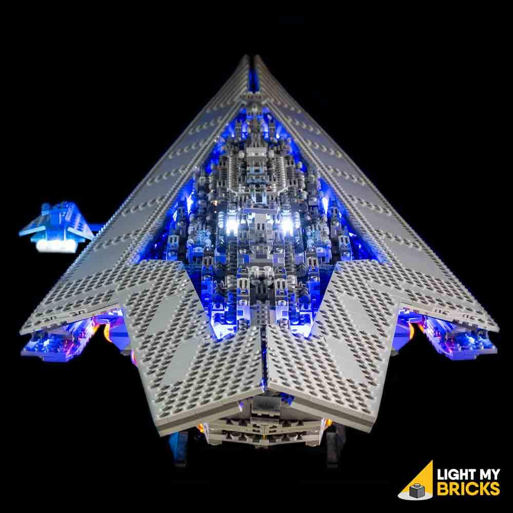 LEGO UCS Super Star Destroyer 10221 kit lumière