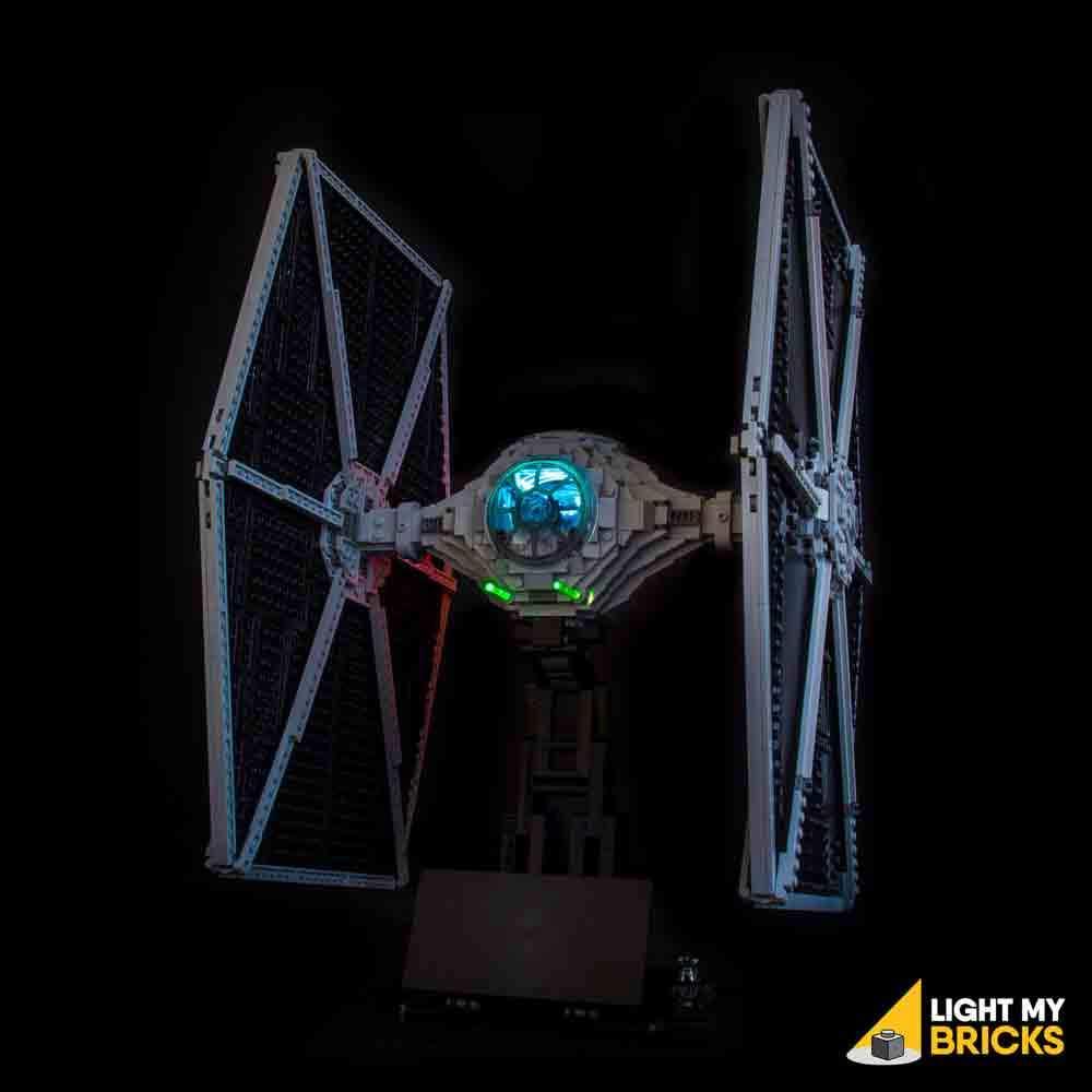 LEGO UCS Tie Fighter 75095 kit lumière