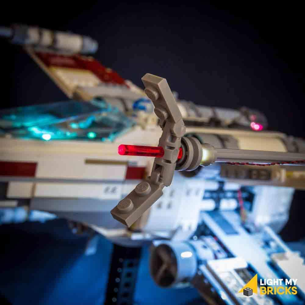 LEGO UCS X-Wing Starfighter 10240 kit lumière