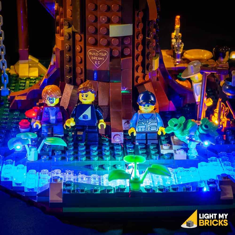 LEGO Maison arbre 21318 Light my Bricks