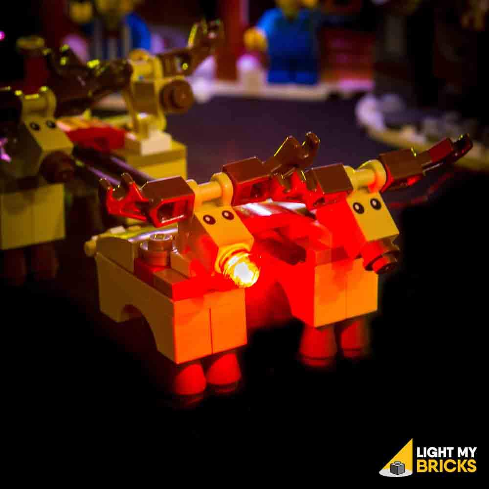 LEGO Atelier pere noel 10245 Light my Bricks