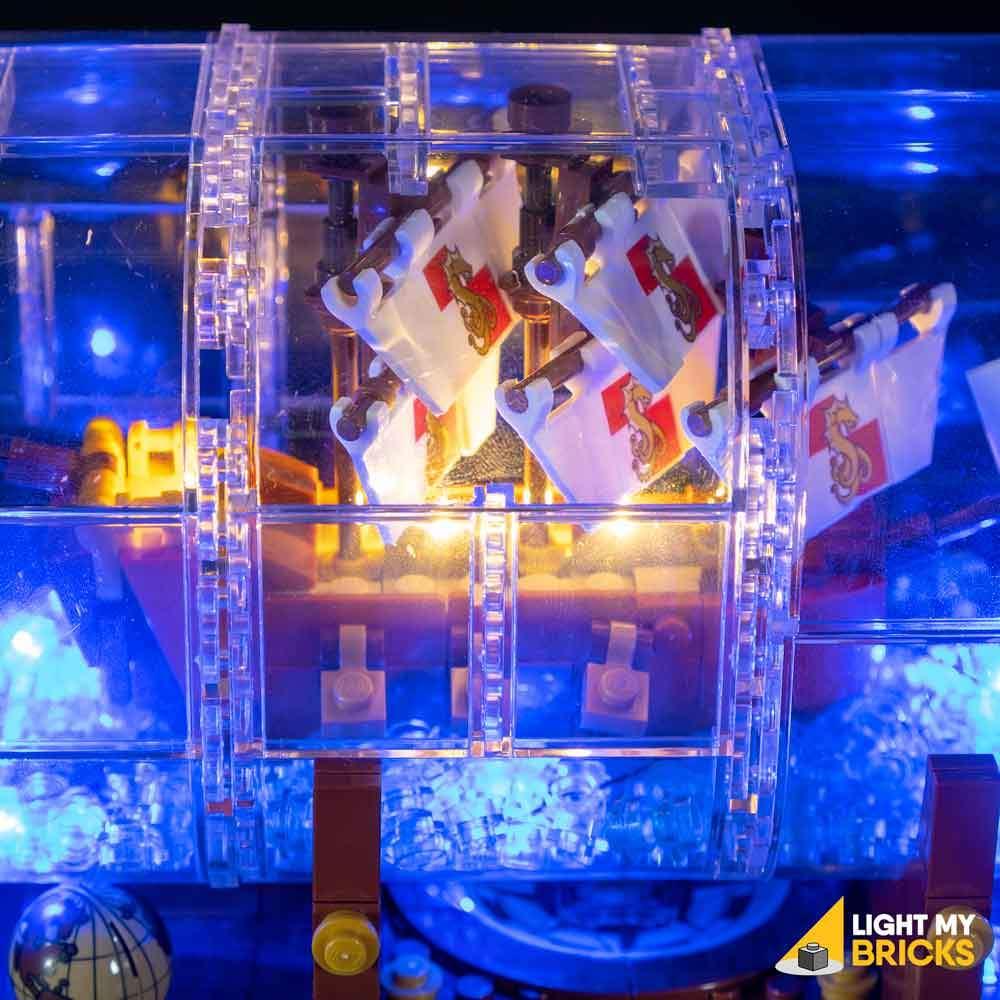 LEGO Bateau en bouteille 21313 kit lumière