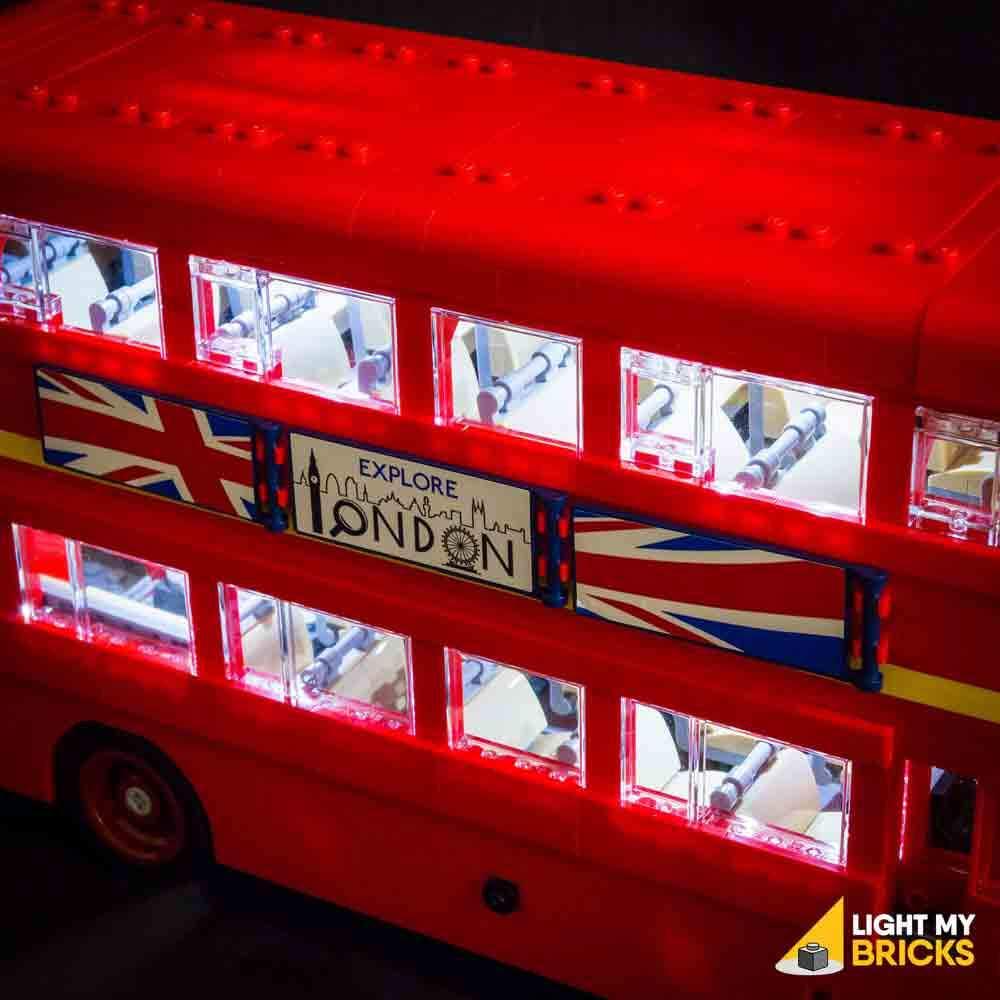 LEGO Bus Londres 10258 kit lumière