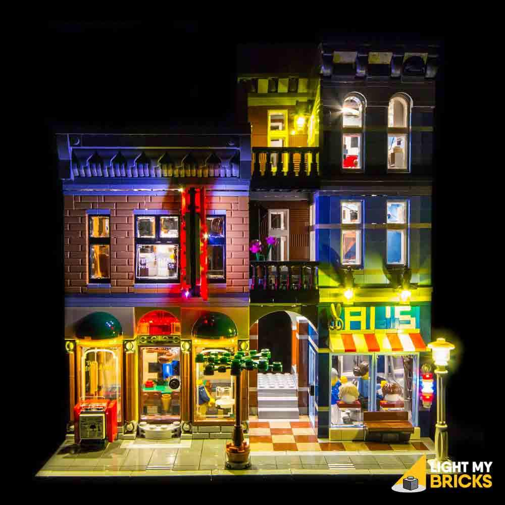 LEGO Bureau du détective 10246 kit lumière