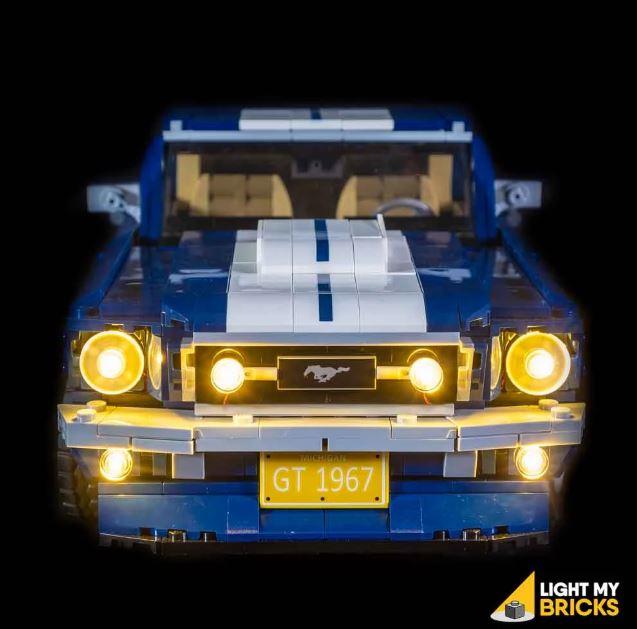LEGO Ford Mustang GT 10265 Light my Bricks