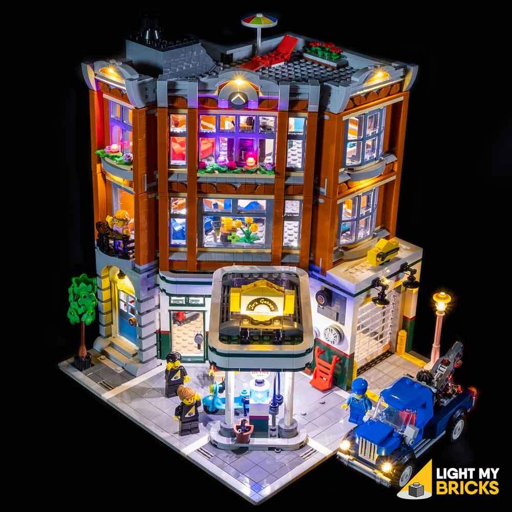 LEGO Garage du coin 10264 kit éclairage