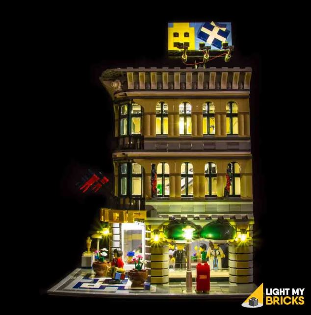 LEGO Grand Magasin 10211 light my bricks