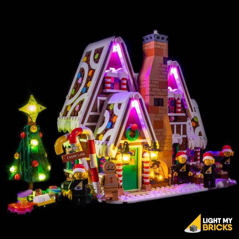 LEGO Maison pain d'épices 10267 Light my Bricks