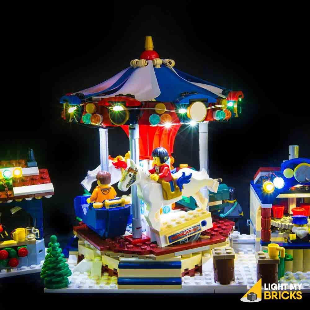 LEGO Marché d'hiver 10235 kit lumière
