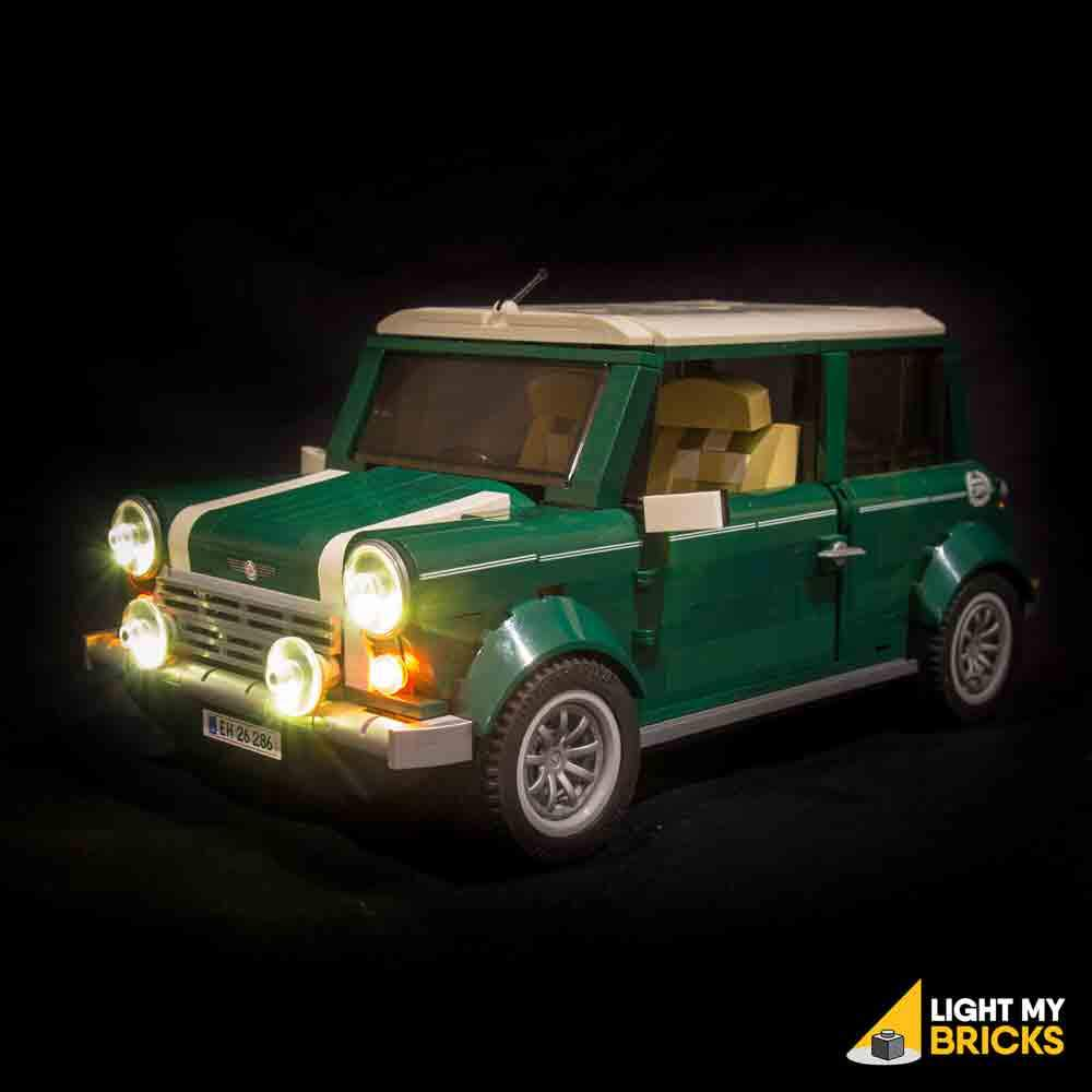 LEGO Mini Cooper 10242 Light my bricks