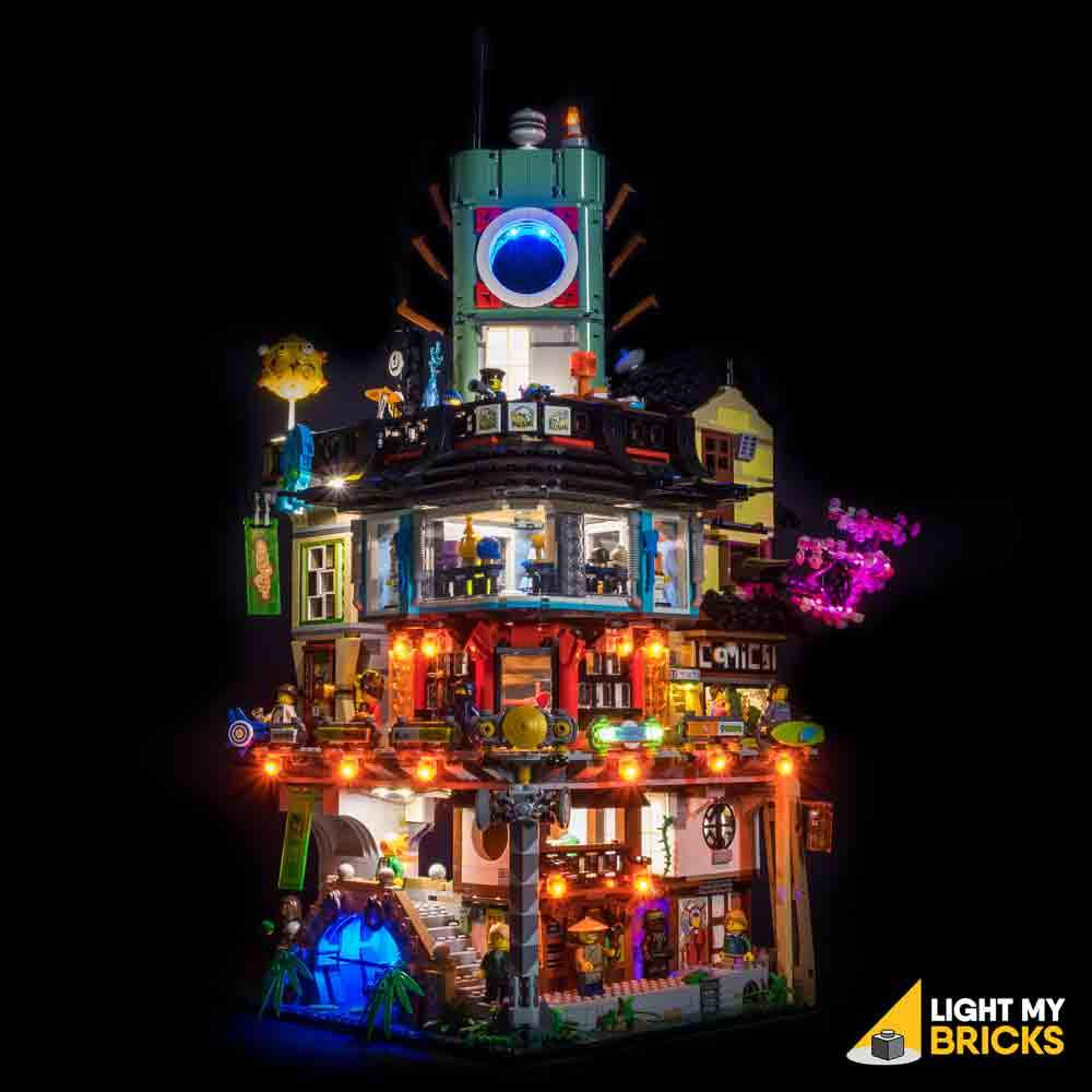LEGO Ninjago City 70620 Light my Bricks