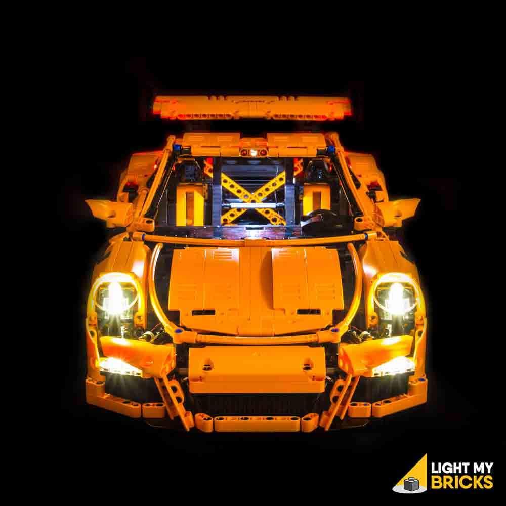 LEGO Porsche 911 42056 kit lumière