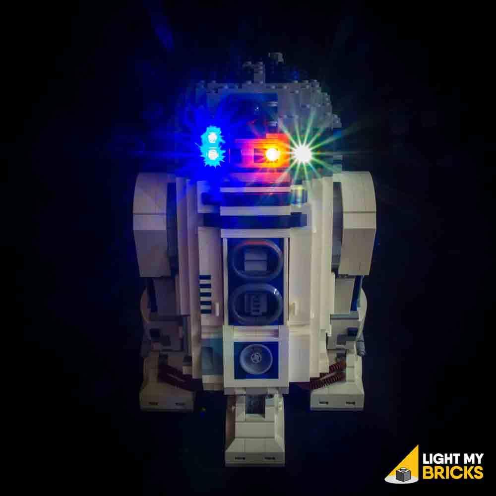 LEGO Star Wars R2-D2 10225 kit lumière