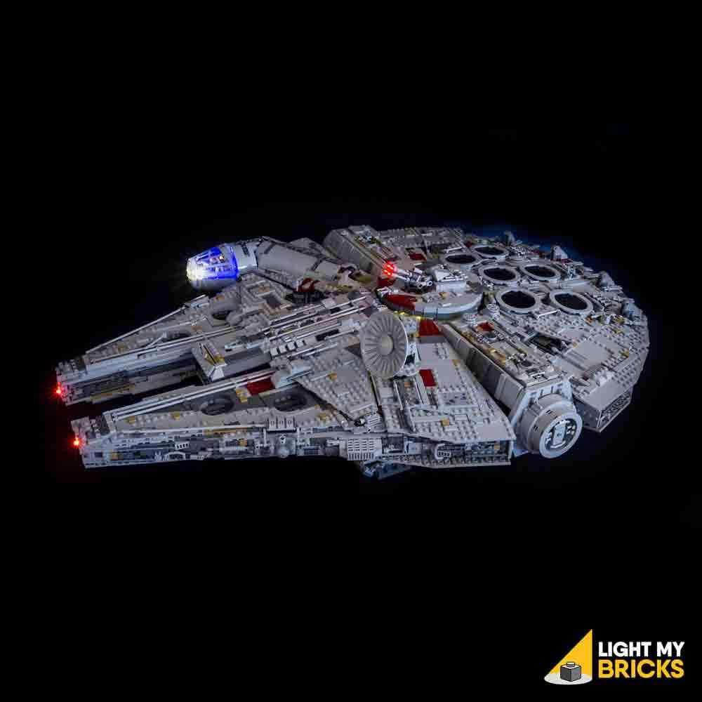 LEGO UCS Millennium Falcon 75192 kit lumière