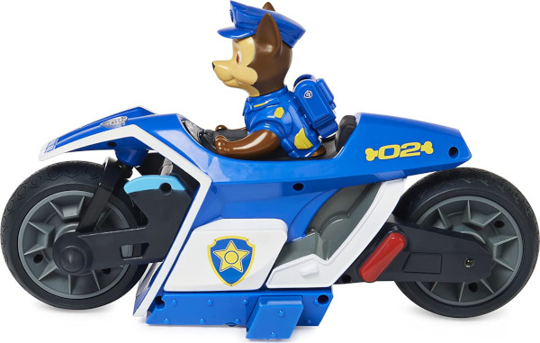 Chase Paw Patrol remote control motorcycle