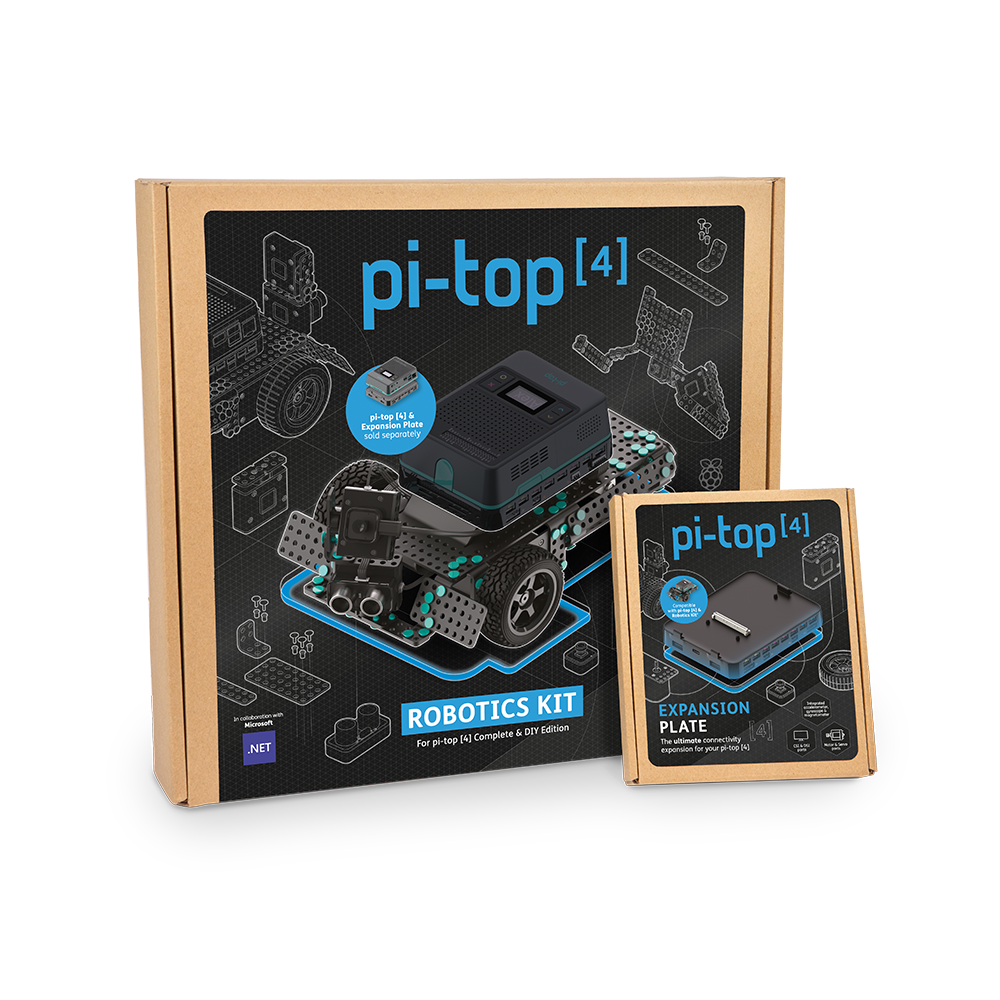 pi-top [4] robotics kit with expansion plate