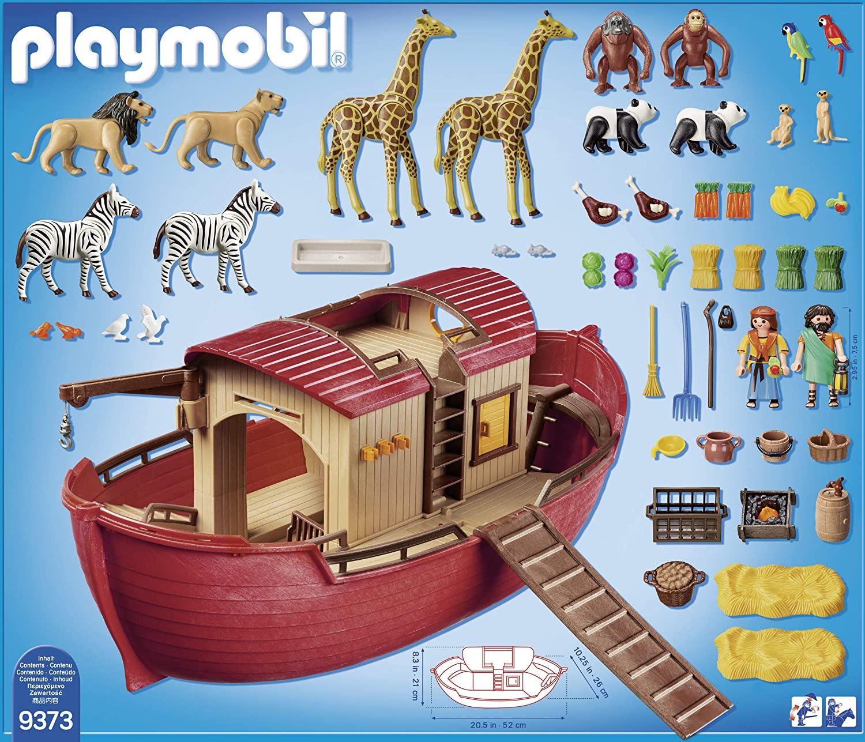 Contenu Playmobil 9373 Arche de noé