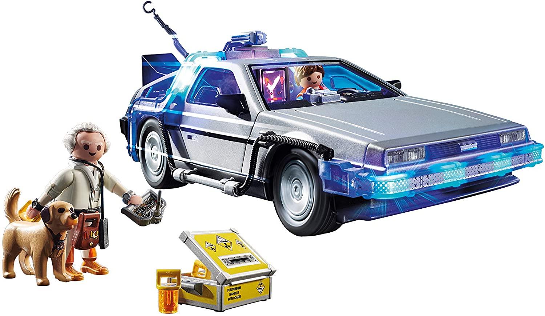 Delorean Playmobil 70317 Retour vers le futur