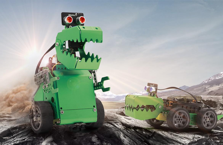 Q-Dino Robobloq robot éducatif à construire
