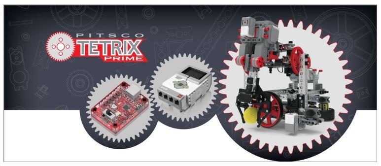 Robots TETRIX PRIME et Lego Mindstorms EV3