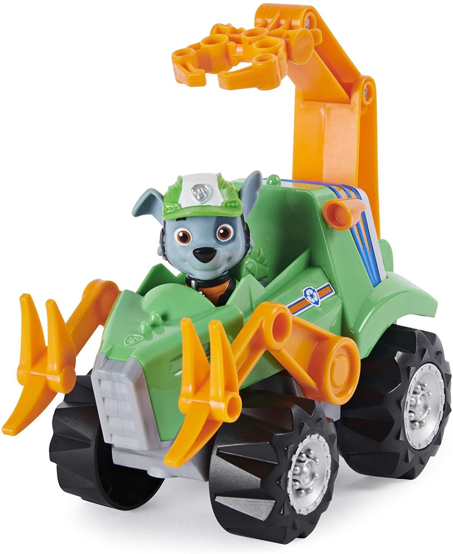 Rocky pat patrouille dino rescue véhicule et figurine