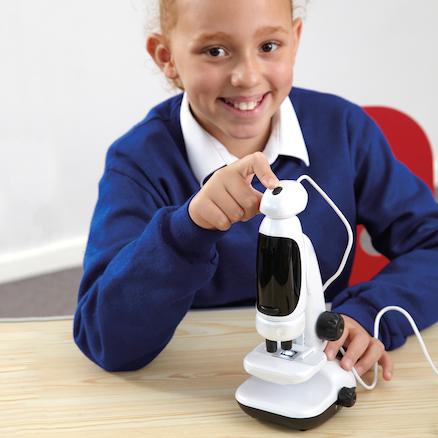 TTS microscope digital