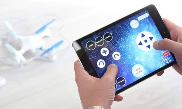 Application mobile drone lumi