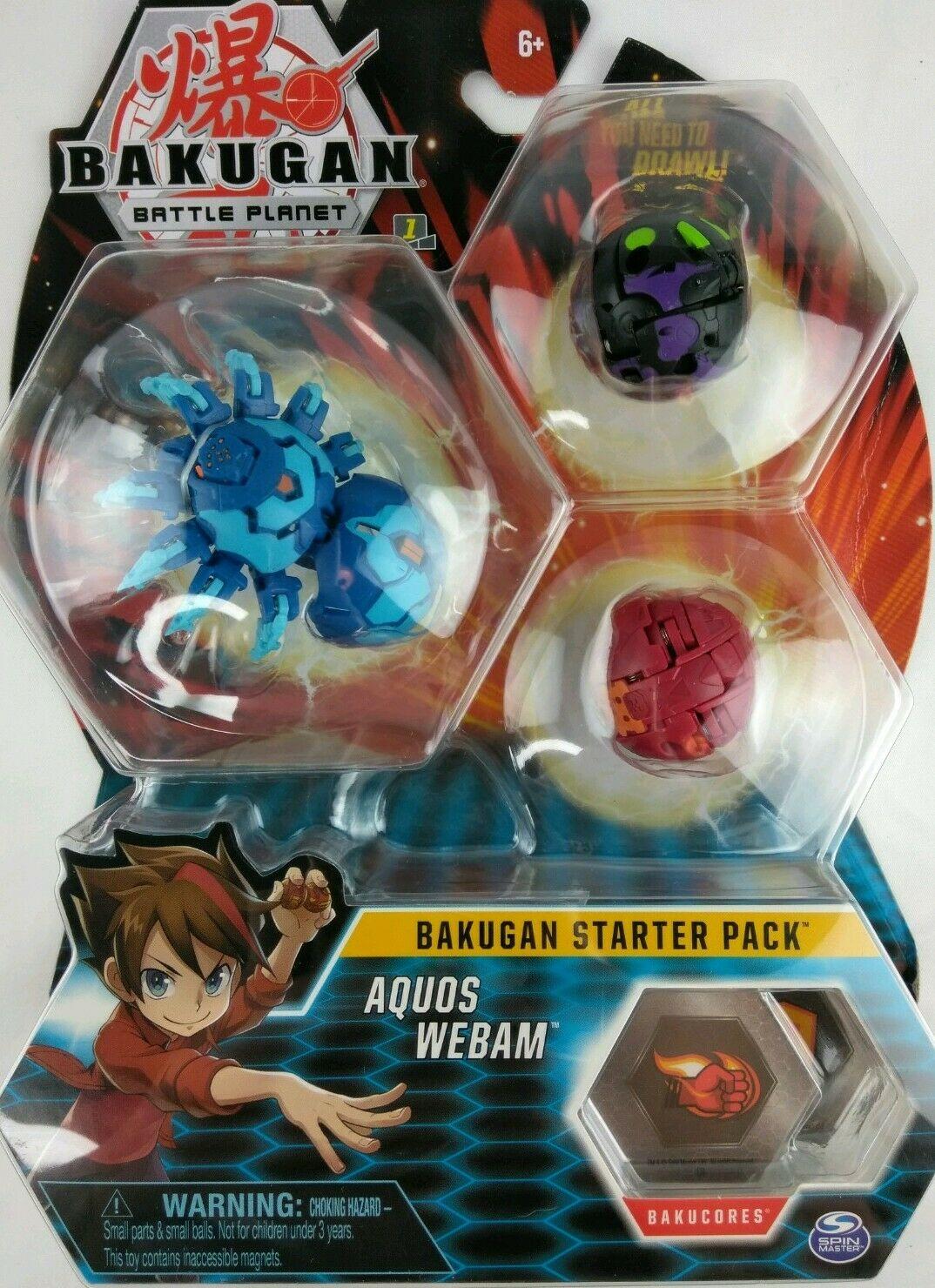 Bakugan Starter Pack Aquos Webam