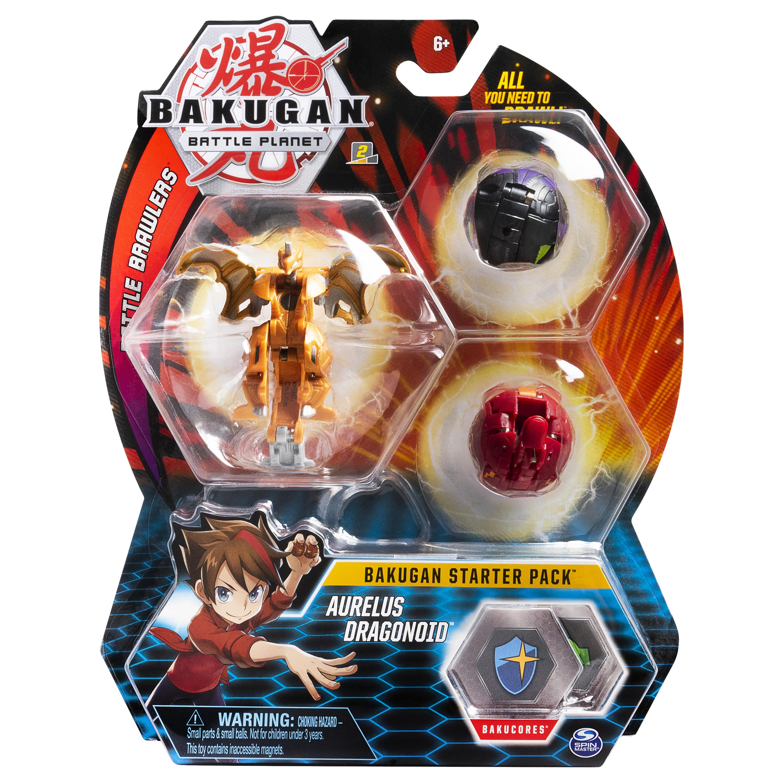 bakugan starter pack aurelus dragonoid