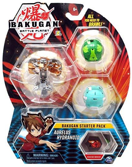 Bakugan starter pack Aurelus Hydranoid