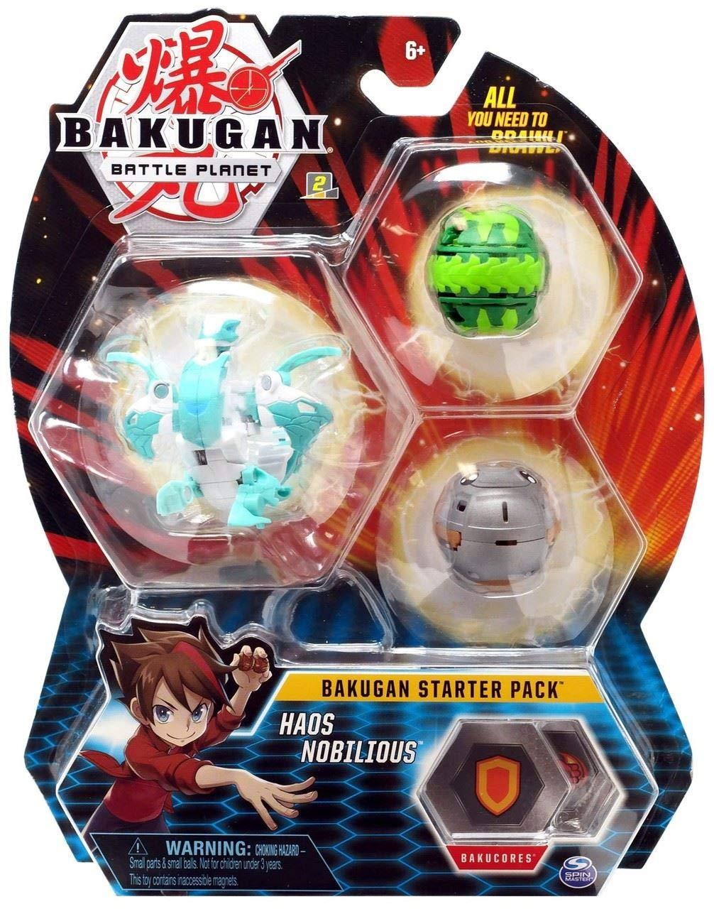 Bakugan starter pack Haos Nobilious