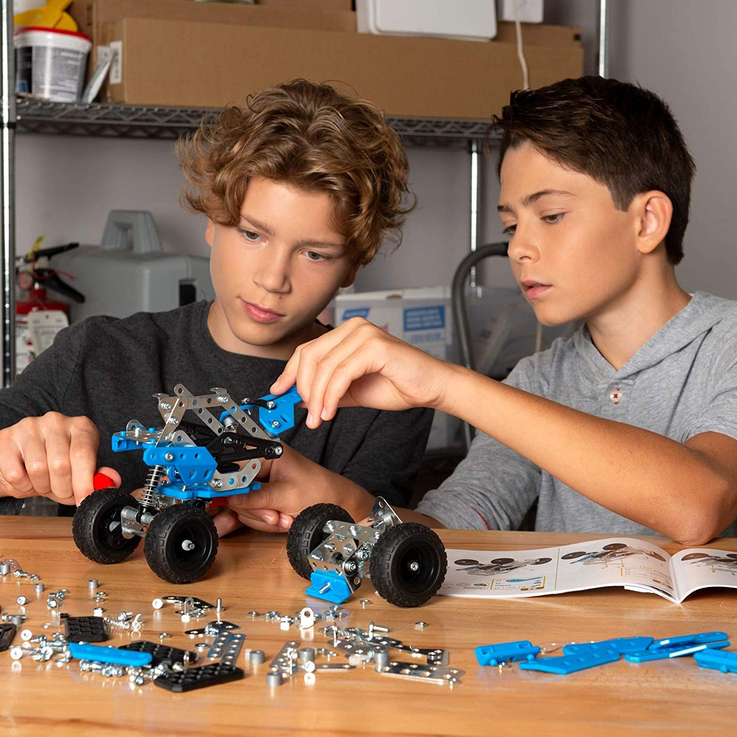 Build a buggy Meccano