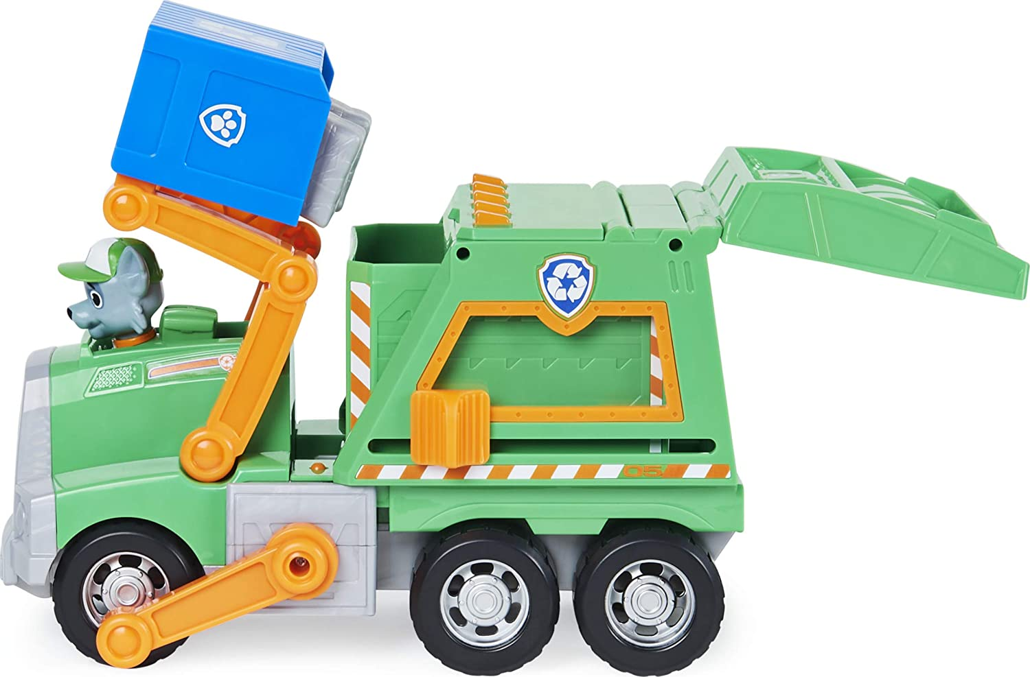 Camion recyclage Rocky Pat Patrouille