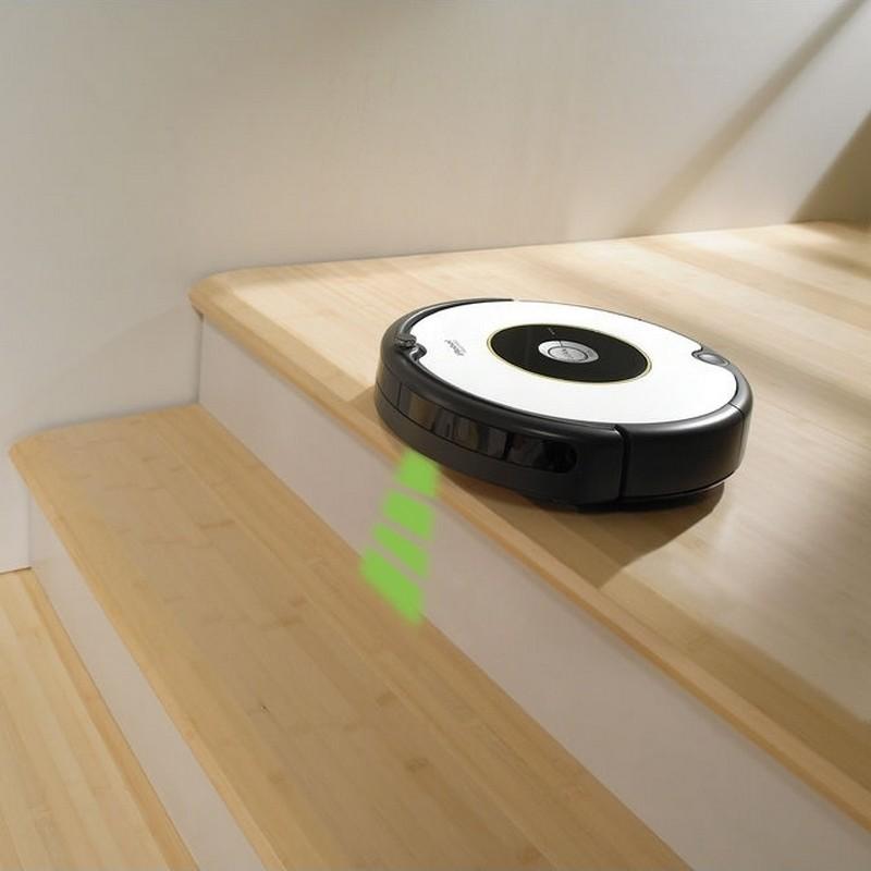 Capteurs du Roomba 605 d'iRobot