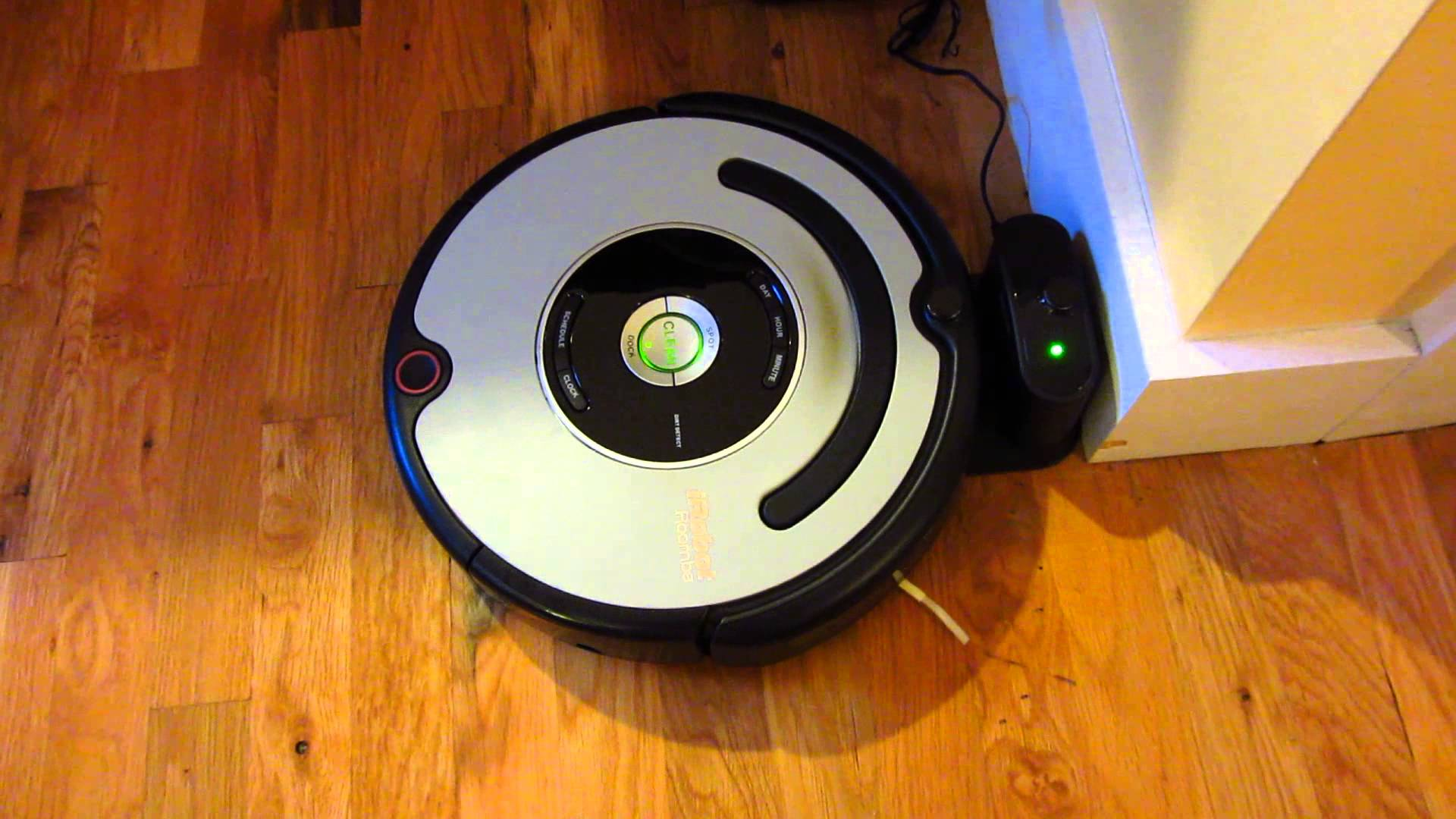 station recharge du Roomba d'iRobot
