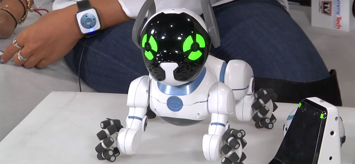 Wowwee Chip Robot Toy Dog We Tell You