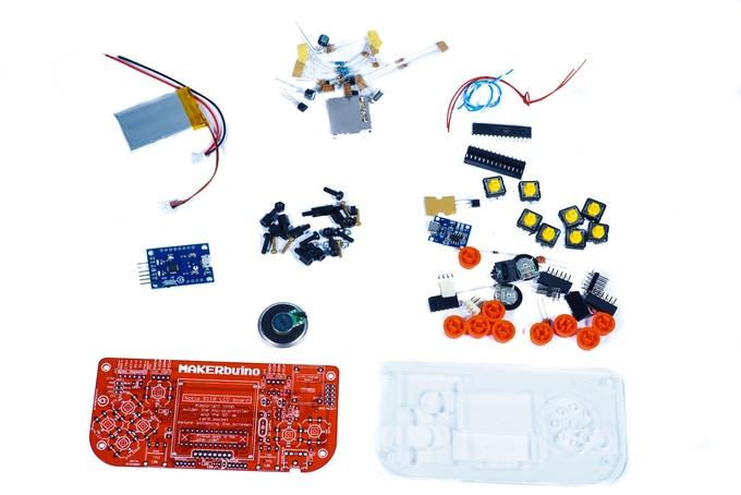 Créer une console de jeux vidéo MAKERbuino