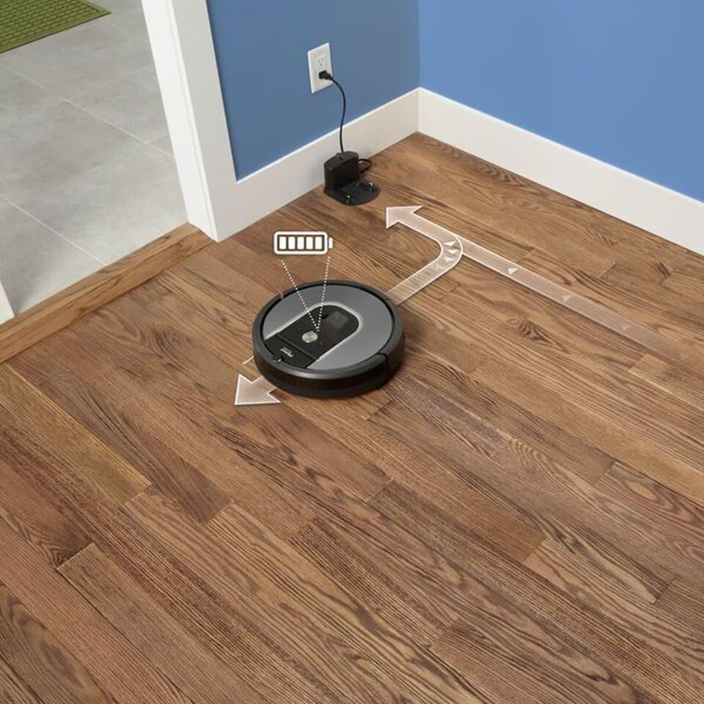 robot aspirateur Roomba 960 d'iRobot